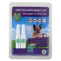 Antiparazitná pipeta psy 2ks - prír.báza