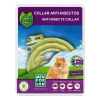 Antiparazitný obojok pre mačky-prír.báza
